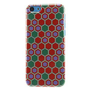 Colorful Hexagons Pattern Hard Case for iPhone 5C
