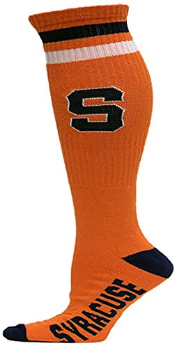 NCAA Syracuse Orange Tube Socks, One Size, Orange ()