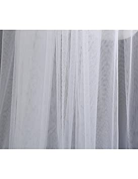 con Frangia Tulle a Terra wedding veils FJY/&TS 2 Strati Stile Semplice Veli da Sposa Velo Lungo