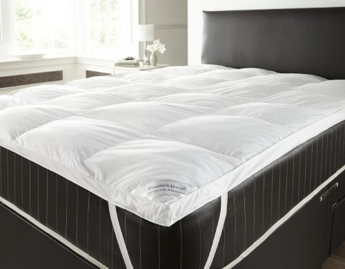 Goose Feather and Down Duvet Mattress Topper Double (White) by Elizabeth Jayne by Textiles Direct