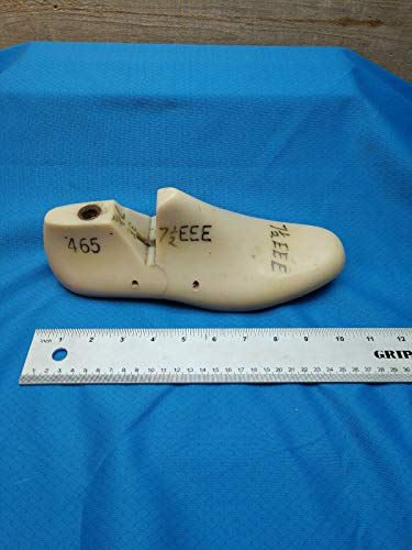 Vintage Shoe Lasts-Vulcan Shoe Lasts-Plastic Molded Single Last