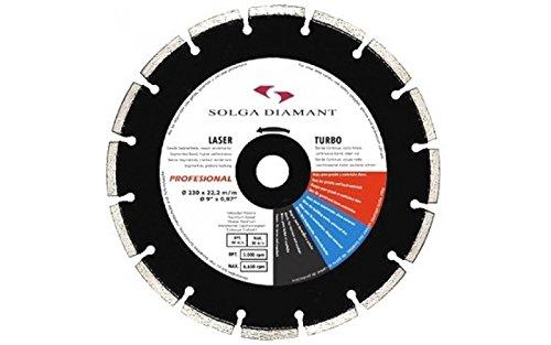 SOLGA 13413350A20–Festplatte Diamant-350x 3'2x 25' 4mm–Bohrung 20