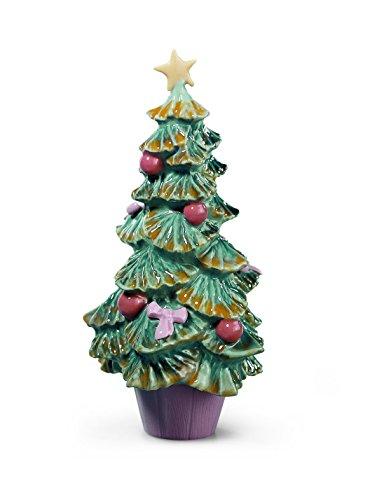 Lladro Porcelain Figurine Christmas Tree by Lladro