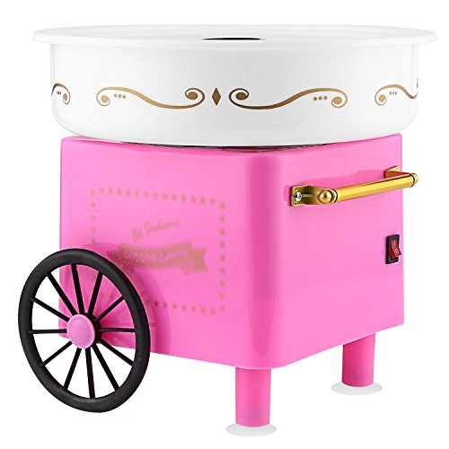 Rapesee Cute Casual Cotton Candy Machine, Stainless Steel Safe Electric Commercial Candy Floss Maker for Family Party … by Rapesee (Image #7)