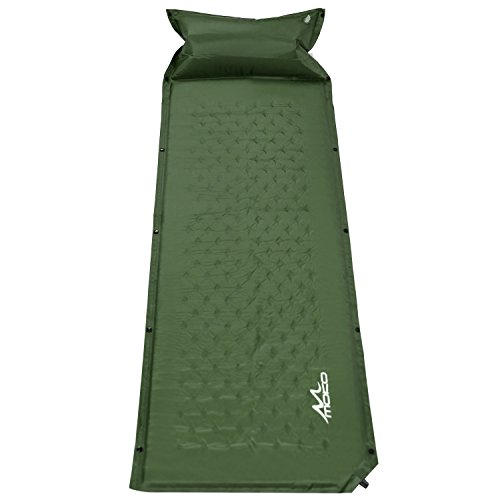 Self Inflating MoKo Lightweight Backpacking Mountaineering
