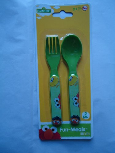 elmo fork and spoon - 9