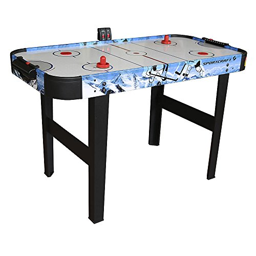 "48"" Air Hockey Table With Electronic Scorer"