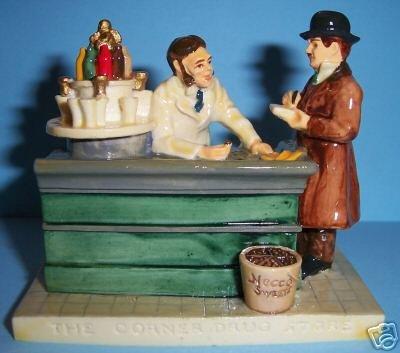 Sebastian Miniatures - The Corner Drug Store