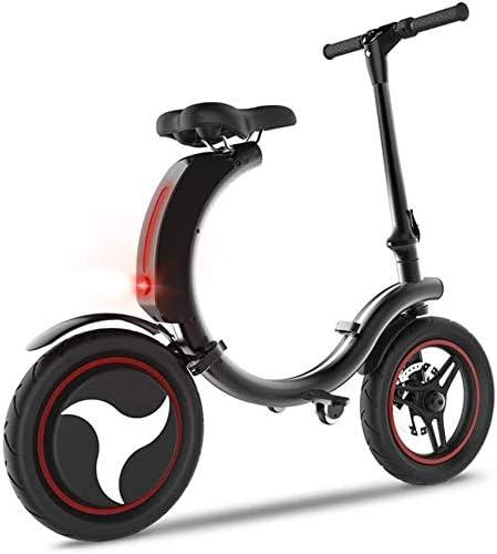 RVTYR Mini Bici eléctrica Plegable de Bicicletas de Ruedas de 14 ...
