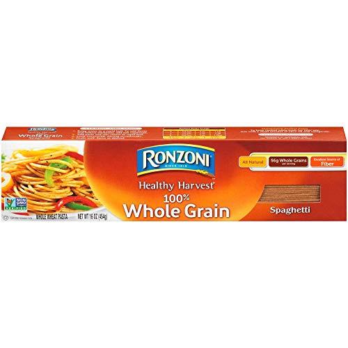 - Ronzoni Healthy Harvest 100% Whole Grain Spaghetti Pasta 16 oz. (Pack of 3)