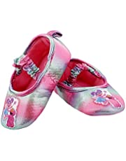Sesame Street Toddler Girls Slippers Elmo Abby Cadabby Kids Ballerina Non-Slip Grip House Shoes