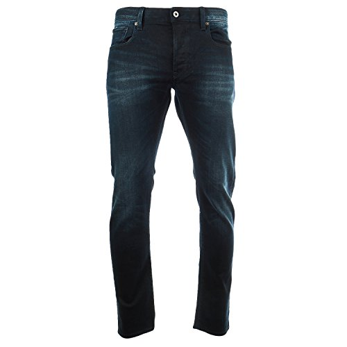 G-Star 3301 Slim Fit Casual Jean Denim Pant - Dark Aged - Mens - 31 x 32 by G-Star Raw