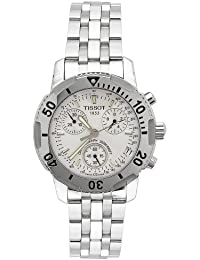Men's T17148633 T-Sport PRS200 Chronograph Stainless Steel Bracelet Watch