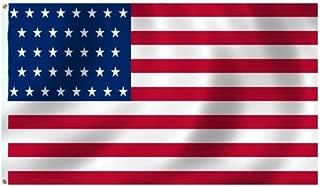 product image for Historical U.S. 37 Star Flag 3X5 Foot SolarMax Nylon