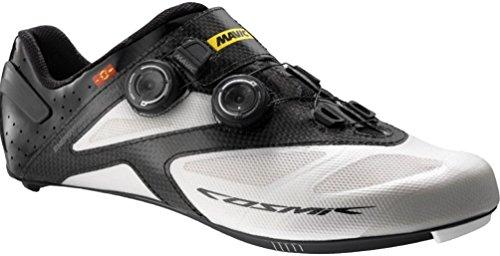 Mavic Cosmic Ultimate Rennrad Fahrrad Schuhe weiß/schwarz 2018: Größe: 38