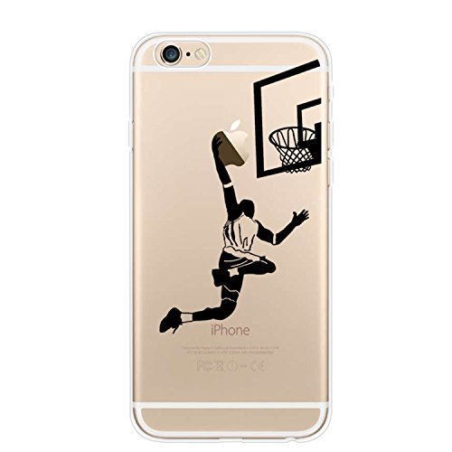 YHong iPhone 6S Plus Basketball Case,iPhone 6 Plus Silicone