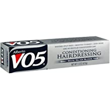 Alberto VO5 Conditioning Hairdressing for Gray/White/Silver Blonde Hair, 1.5-Ounce Tubes (Pack of 6)
