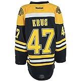 Boston Bruins Torey Krug Reebok Youth (8-20) Replica Home Jersey (L/XL)