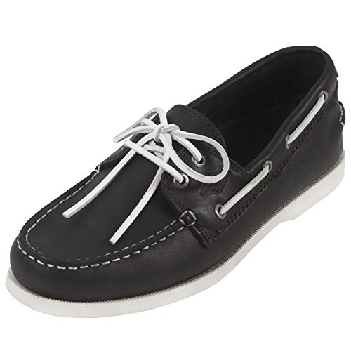 Steel Edge Leather Boat Shoes Loafers Men (8, - Steel Tour Extreme