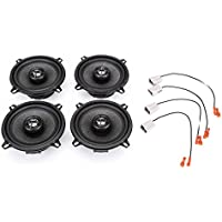 1986-1989 Mazda RX7 Complete Factory Replacement Speaker Package by Skar Audio