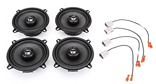 (1982-1986 Nissan Stanza Complete Factory Replacement Speaker Package by Skar)