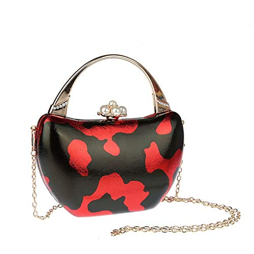 Phone Chain Bag Wristlet Detachable Evening Leather Strap Cell Small B Wallet Clutch Purse Handbag Womenwith Unique For SzY6t