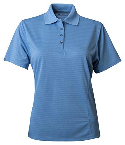 Bermuda Sands Womens Shadow Performance Polo Shirt  Bimini Blue  X Large