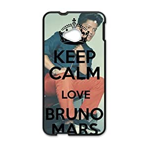 Happy Bruno Mars durable Cell Phone Case for HTC One M7