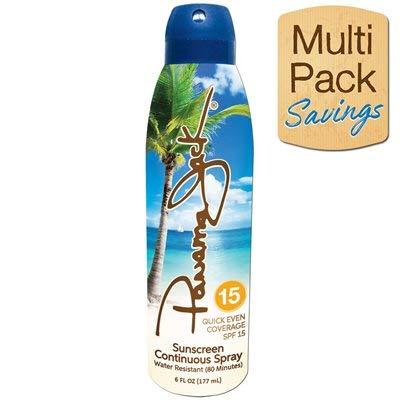Panama Jack Continuous Spray Sunscreen SPF 15