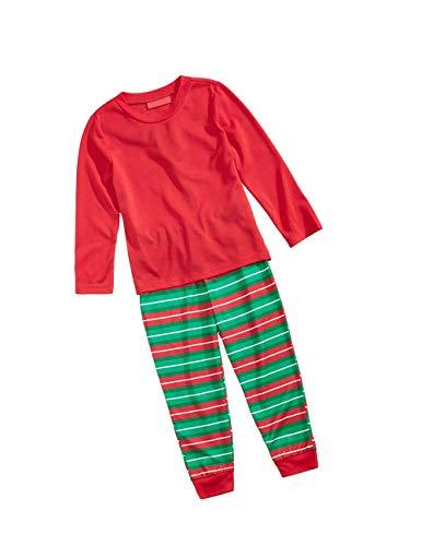 Abbigliamento da Vestiti Adulto Top Maglietta Biancheria Bambino Uguali Famiglia Lunghi Bambini Notte Pantaloni Natale PgaPx