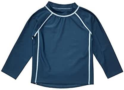 Leveret Long Sleeve Rash Guard Sun Protected UPF + 50 (Size 12M-5 Years)