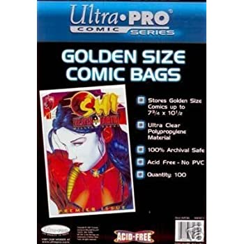 Amazon.com: Silver Age Comic Bags and Backer Boards - 100ct ...