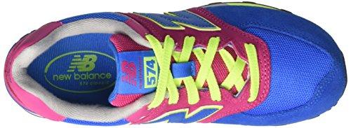 Mixte Baskets Balance blue Kl574wjp Multicolore pink Enfant Basses New zyEISgy