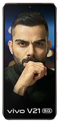 Vivo V21 5G (Arctic Blue, 8GB RAM, 128GB Storage) with No Cost EMI/Additional Exchange Offers