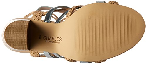 by Greensboro Women's David Dress Natural Charles Charles Sandal zxFfqvxpw