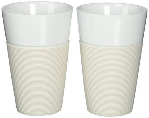 Bodum Bistro 2 Piece Mug With Silicone Sleeve 0 6 L
