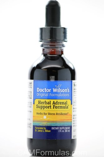 Herbal Adrenal Support 2 oz - formulations originales de Dr Wilson