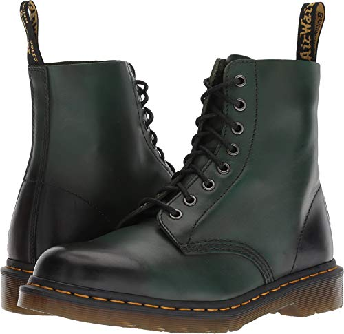 Dr. Martens 1460 Pascal Mid Calf Boot, Green, 11 M UK (12 - Leather Green Mid