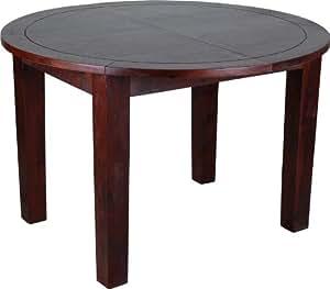 Mesa de comedor Cherry 120 cm redondo - extensible