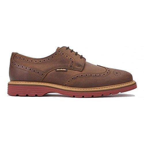 Marron ville marron pour à homme Chaussures lacets de marron Mephisto qafE7zw