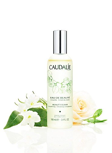 CaudalÍe Paris Beauty Elixir Eau de Beaute Spray. Refreshing and Lightweight Face T1r to Tighten Pores, Set Makeup, and Improve Oily Skin and Complexion, 3.4 Fl. Oz ()