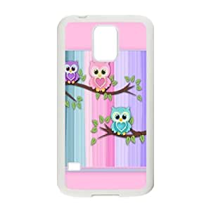 Samsung Galaxy S5 Phone Cases White Vintage Owl On Tree FYD739051