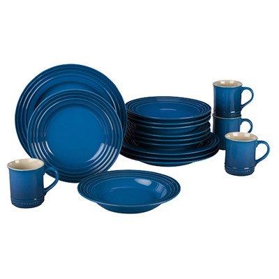 Le Creuset Stoneware 16-Piece Dinnerware Set, Marseille