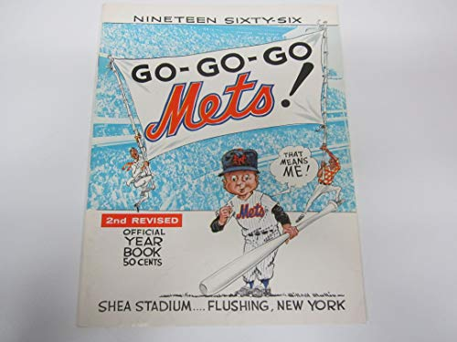 (1966 New York Mets OFFICIAL YEARBOOK EX CONDITION!!! 2nd REVISED)