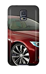 New TaLHagX3258yCBNP Tesla Model S 2 Tpu Cover Case For Galaxy S5