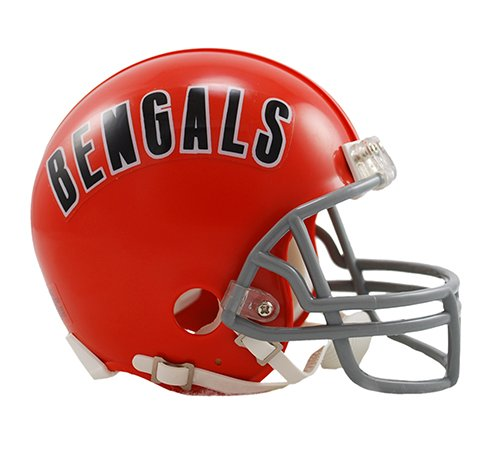 Cincinnati Bengals 1968-79 Throwback NFL Riddell Replica Mini Helmet