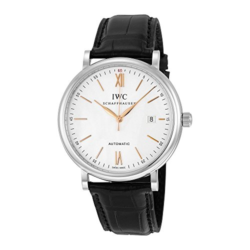 IWC Portofino Automatic Silver-plated Dial Mens Watch IW356517