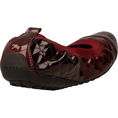D Rojo para Geox Rojo Bailarina Mujer Piuma Zapatos Modelo para Color Marca Bailarina Mujer Rojo Geox Zapatos ORqFaCw