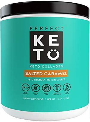 Perfect Keto Protein Powder Caramel