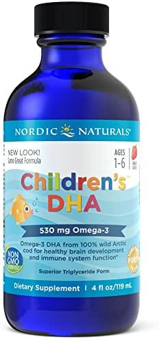 Nordic Naturals - Children's DHA, Healthy Cognitive Development and Immune Function, 4 Ounces